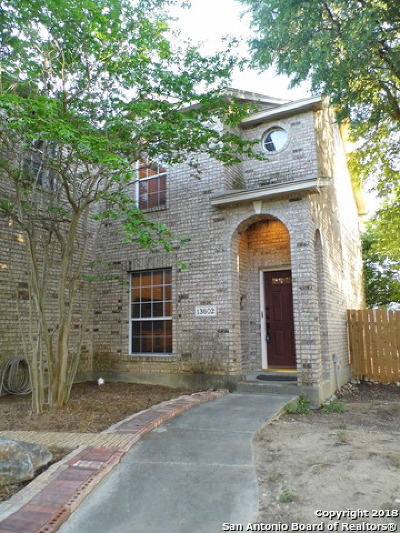 San Antonio Single Family Home New: 13602 Mason Crest Dr