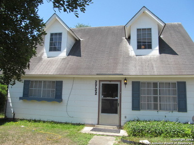 Bexar County Single Family Home New: 2722 Lagoon Dr