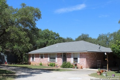 Pipe Creek Single Family Home For Sale: 6976 Fm 1283