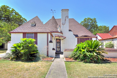 San Antonio Single Family Home Active RFR: 2210 W Kings Hwy