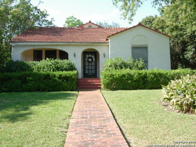 San Antonio Single Family Home For Sale: 125 Geneseo Rd