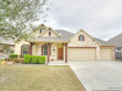 New Braunfels Single Family Home Back on Market: 2081 Pecan Gable
