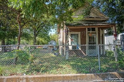 San Antonio TX Single Family Home Back on Market: $79,000