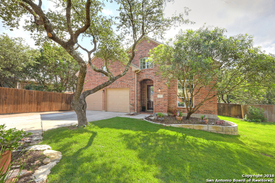 Cibolo Canyons Single Family Home Price Change: 24042 Western Meadows