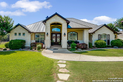 New Braunfels Single Family Home For Sale: 10906 Drystack Rd