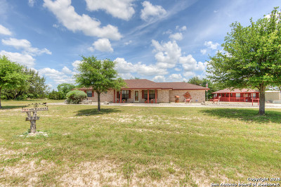 Bandera Single Family Home For Sale: 233 River Ranch Dr