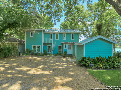 Guadalupe County Single Family Home Price Change: 145 Lake Bend