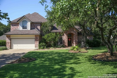 Boerne Single Family Home For Sale: 8514 Fairway Trace Dr