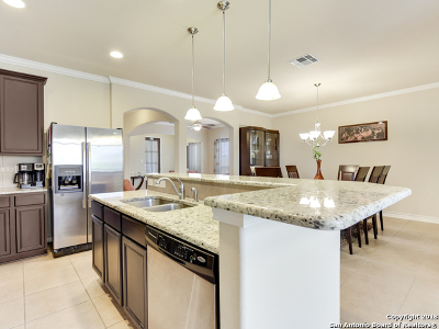 San Antonio Single Family Home Price Change: 7818 Kings Spring