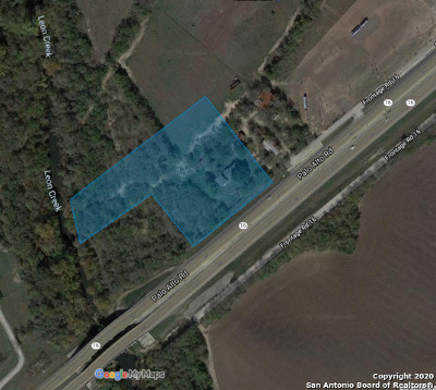 San Antonio Residential Lots & Land For Sale: 13811 State Highway 16 S
