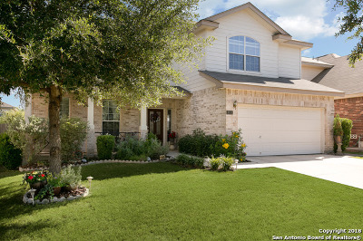 Helotes Single Family Home Price Change: 8930 Firebaugh Dr