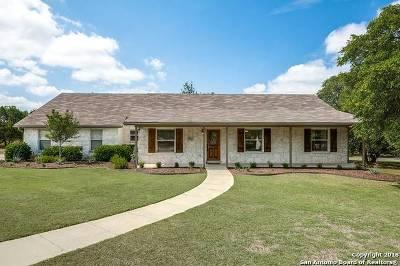 Spring Branch Single Family Home For Sale: 9004 Ashford Dr