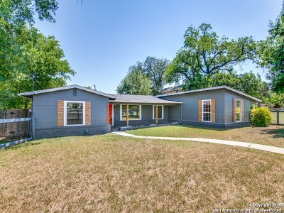San Antonio Single Family Home Back on Market: 3120 W Ashby Pl