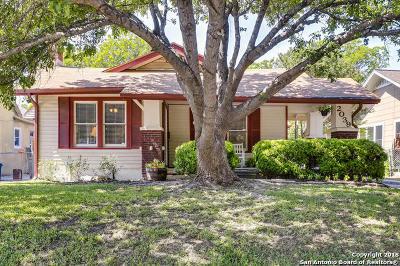 San Antonio Single Family Home Back on Market: 2039 W Huisache Ave