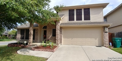Converse Single Family Home For Sale: 9603 Krier Cove
