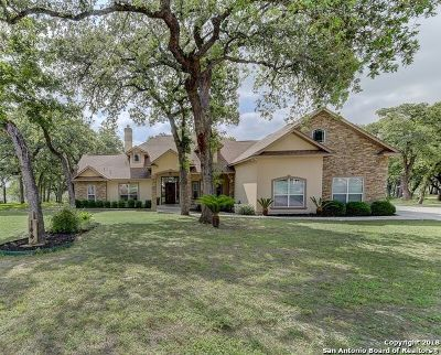 La Vernia Single Family Home For Sale: 144 Legacy Trace