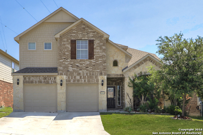 Boerne Single Family Home Price Change: 27454 Camino Tower