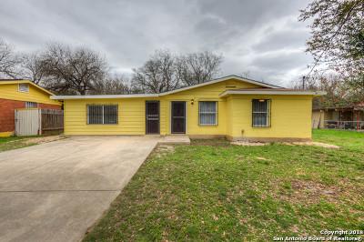 San Antonio Single Family Home Back on Market: 4807 Irma Ave