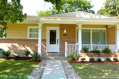 San Antonio TX Single Family Home Back on Market: $249,000