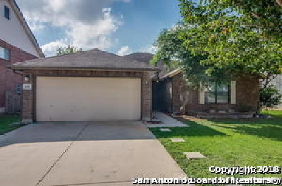 Schertz Single Family Home For Sale: 1631 Jasmine