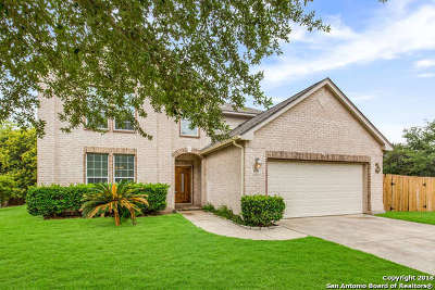 Helotes Single Family Home For Sale: 8714 Santa Fe Cove