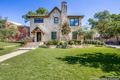 Olmos Park Single Family Home For Sale: 427 Thelma Dr