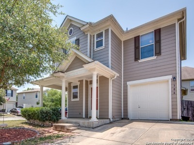 Boerne Single Family Home For Sale: 306 Hampton Cove