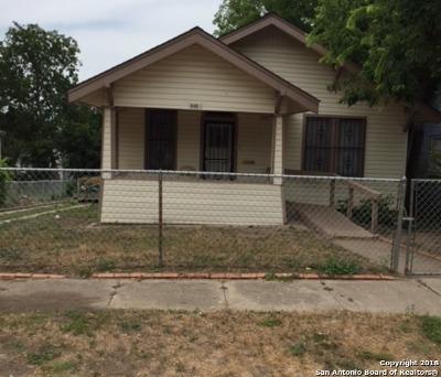 San Antonio Single Family Home Back on Market: 840 Dakota