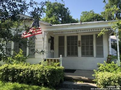 San Antonio Single Family Home Back on Market: 1531 Steves Ave