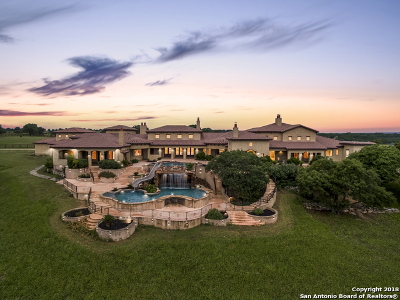 Boerne TX Single Family Home Back on Market: $5,950,000