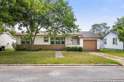Schertz Single Family Home Back on Market: 502 Aviation Ave