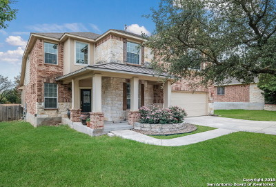 Helotes Single Family Home Price Change: 8918 Los Sonoma Rio