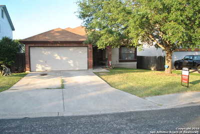 Converse Single Family Home Price Change: 8051 Chestnut Barr Dr