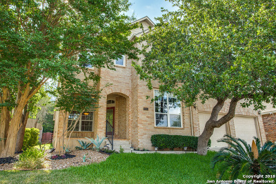 San Antonio Single Family Home For Sale: 20514 Settlers Valley