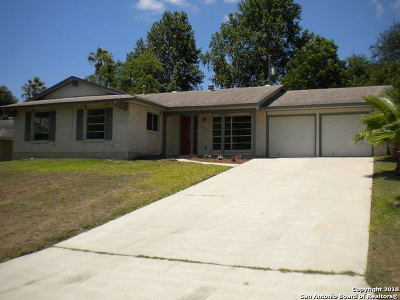 Bexar County, Comal County, Guadalupe County Single Family Home For Sale: 13017 Welcome Dr