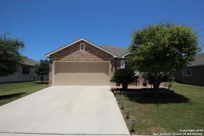 Selma Single Family Home For Sale: 7707 Saratoga Knoll