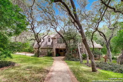 Helotes Single Family Home Price Change: 11083 Indian Trail