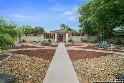Windcrest Single Family Home For Sale: 5606 Cleardrift Dr