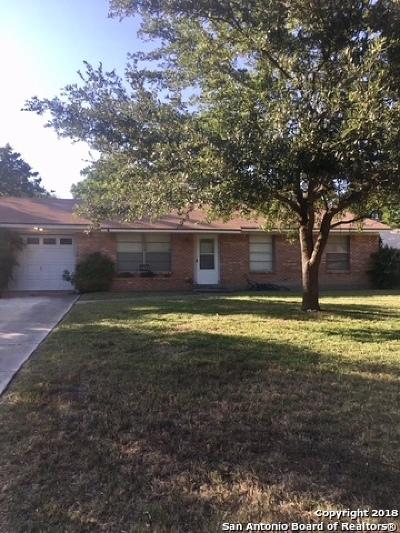 San Antonio Single Family Home Back on Market: 4423 Chedder Dr.