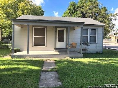 Schertz Single Family Home For Sale: 609 Wright Ave