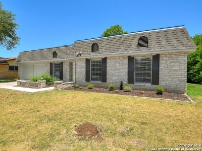Bexar County Single Family Home Back on Market: 307 Downshire Dr