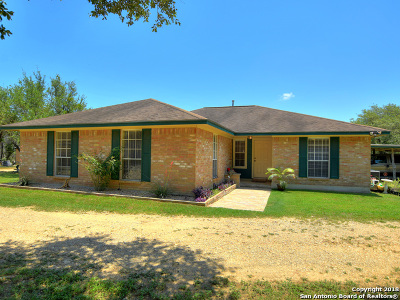 San Marcos Single Family Home For Sale: 110 Piedras Pass
