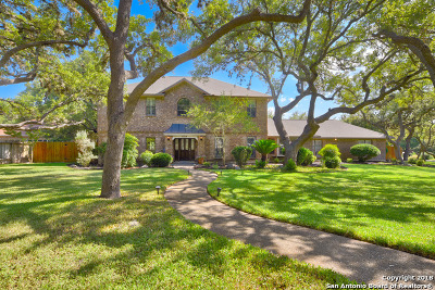 Helotes Single Family Home Price Change: 11214 Hunters Path