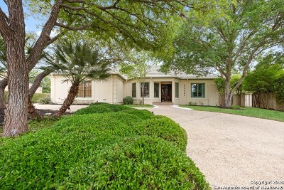 Bexar County Single Family Home For Sale: 11627 Elm Ridge Rd