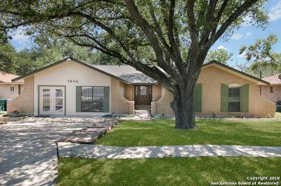 San Antonio Single Family Home For Sale: 7834 Hawk Trail St