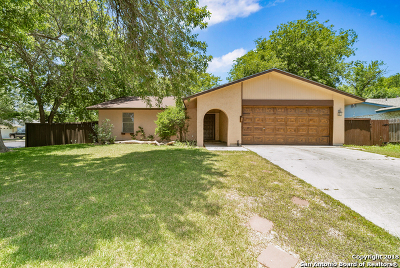 San Antonio Single Family Home Back on Market: 8103 Cedar Forest