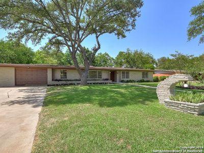 Castle Hills Single Family Home Back on Market: 219 Gardenview