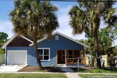 San Antonio Single Family Home For Sale: 109 Pruitt Ave