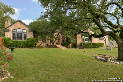 Boerne Single Family Home For Sale: 8523 Alydar Circle