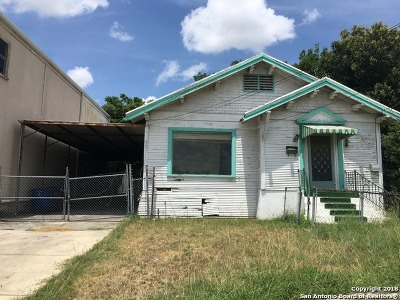 San Antonio Single Family Home Back on Market: 307 Blanco Rd